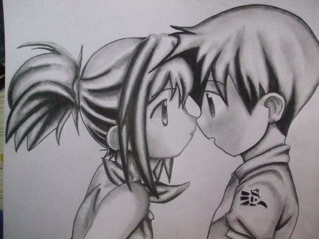 9b1 Jpg 640 480 Anime Chibi Anime Love Anime Sketch