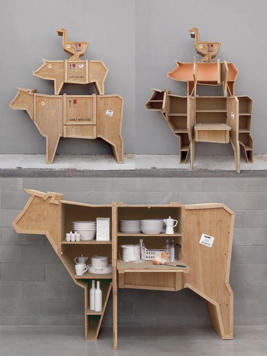 Mobili strani e stravaganti | Wood shop projects, Creative