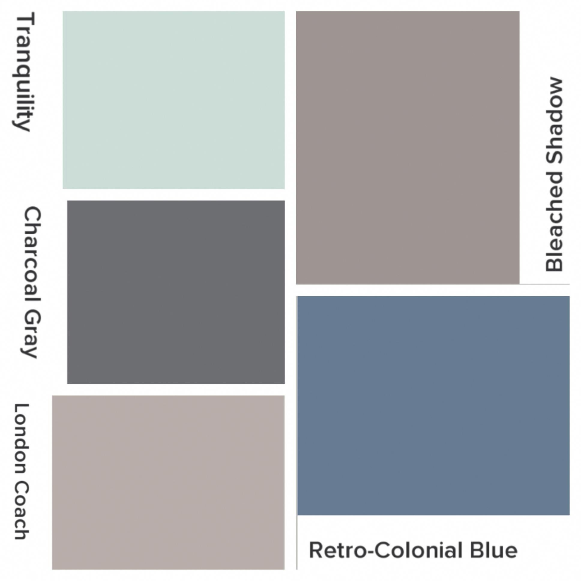 Whole House Color Scheme Valspar Lowes Bleached Shadow Kitchen Retro Colonial Blue Office London Coach Living Room Charcoal Gray Interior