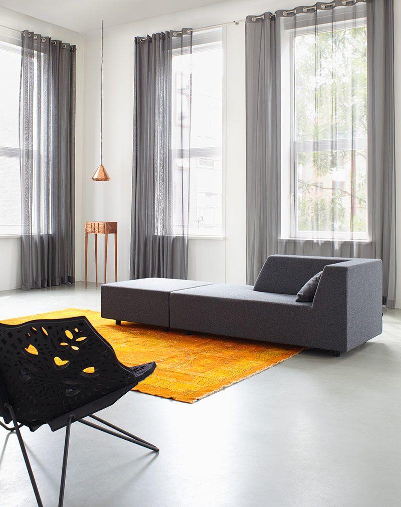 Transparante inbetween gordijnen | House & Home | Ramen | Pinterest ...