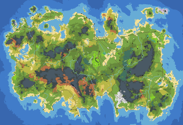 Pin by Justin Ma on Pixel Art in 2019 | Fantasy world map