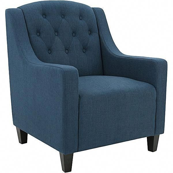 Canberra Armchair Dark Blue Bluearmchair Iron Chairs Pinterest