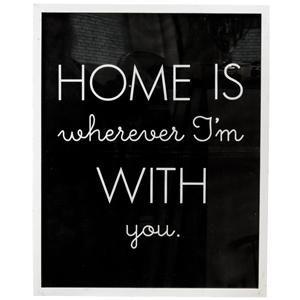 AFFISCH HOME