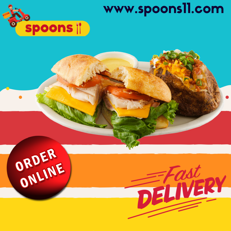 Book Online Food From Restaurants Nearby You Spoons11 Get Online Food Home Delivery From Restaurants Near You Nutritious Snacks Food Healthy Food Delivery