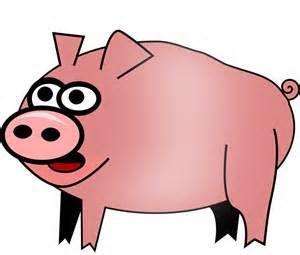 Pig by feraliminal - Cartoony pig.