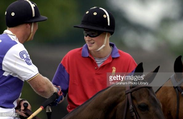 Prince Harry Shaking Hands With A Player From The Opposing Team After... News Photo   Getty Images