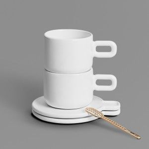 Othr+adds+3D-printed+Grid+cup+and+saucer+to+its+expanding+collection