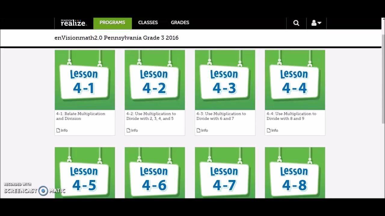 38 Envision Math 2 0 Grade 5 Worksheets Mathematik Fortschritt Studium