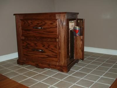 Patented Nightstand With Security (Privacy Hidden Compartment) Patented  Nightstand With Security (privacy Hidden