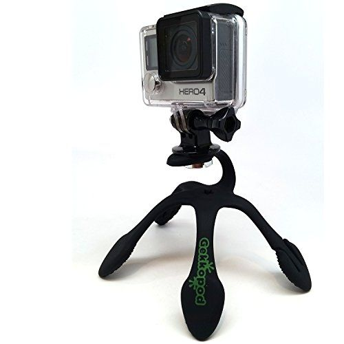 Gekkopod Gopro Amp Smartphone Mount Portable And Extremely Flexible Mount That Can Be Set Wrapped Hung Clung Smartphone Mount Monopod Photo Accessories