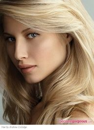 Swedish Blonde Hair Color/ Opt for a pale Swedish blonde hair color only if youre naturally fair with a cool skin tone. Protect the delicate hue with blonde-depositing shampoo and conditioner and a regular clear glaze treatment.