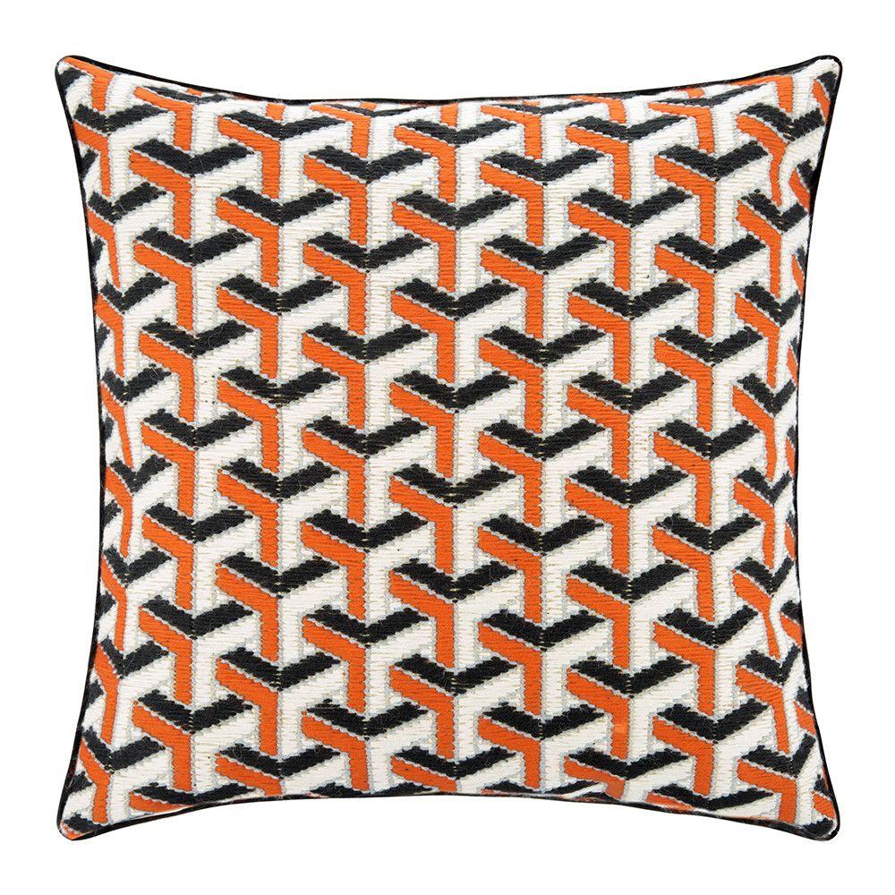 Buy Jonathan Adler Bargello Cushion 40x40cm Maze Amara Cushion Design Cushions Scatter Cushions
