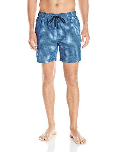 0729dec5fc Introducing Mr Swim Mens Houndstooth Swim Trunk Light Blue XLarge. Get Your  Ladies Products Here and follow us for more updates!