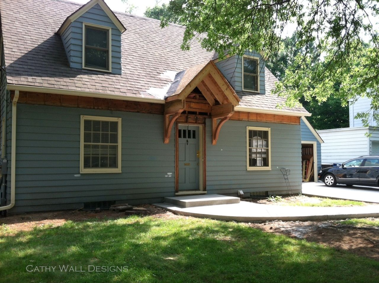 Cape Cod Curb Appeal Ideas Part - 35: Room RX: Curb Appeal: 5 Improvements For A Cape Cod
