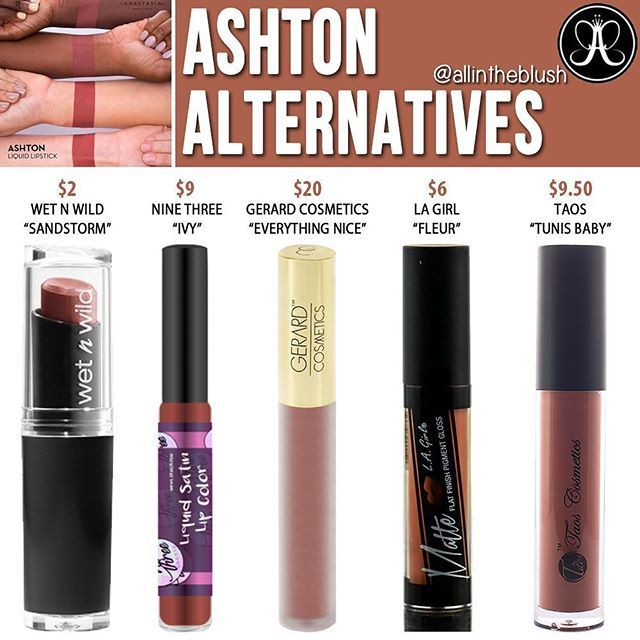 Let S Kiss And Make Up: Dupes For Ashton By Anastasia Beverley Hills