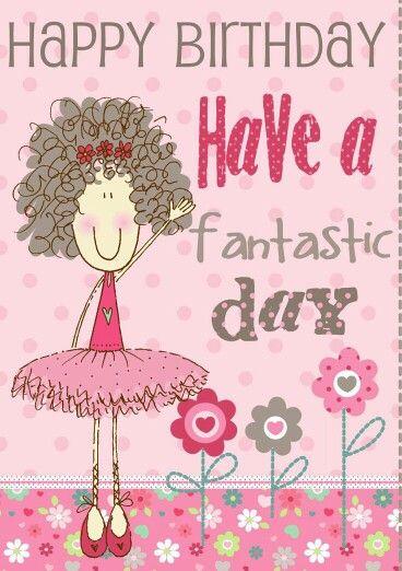 Cute birthday card for a little girl | Cute Cards ...
