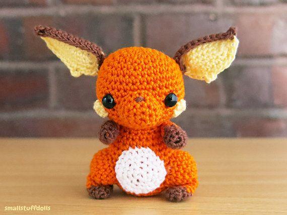 Raichu PRE ORDER x Mini Amigurumi Pokemon Crochet Doll Pikachu Evolution