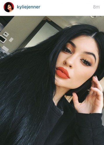 Perfect Red Lip Kylie Jenner Maquillaje De Kylie Peinado Y