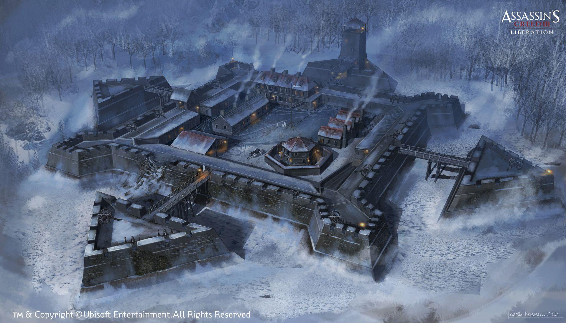 Artstation New York Outskirts Fort Concept Eddie Bennun Concept Art World Fantasy City Fantasy Castle