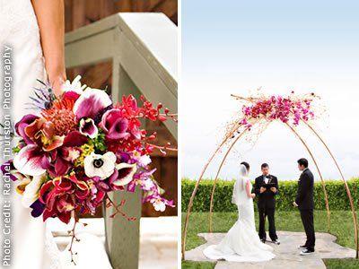 Waterlily Pond San Francisco Wedding Flowers Bay Area Fl Designer Bold Unique Ikebana