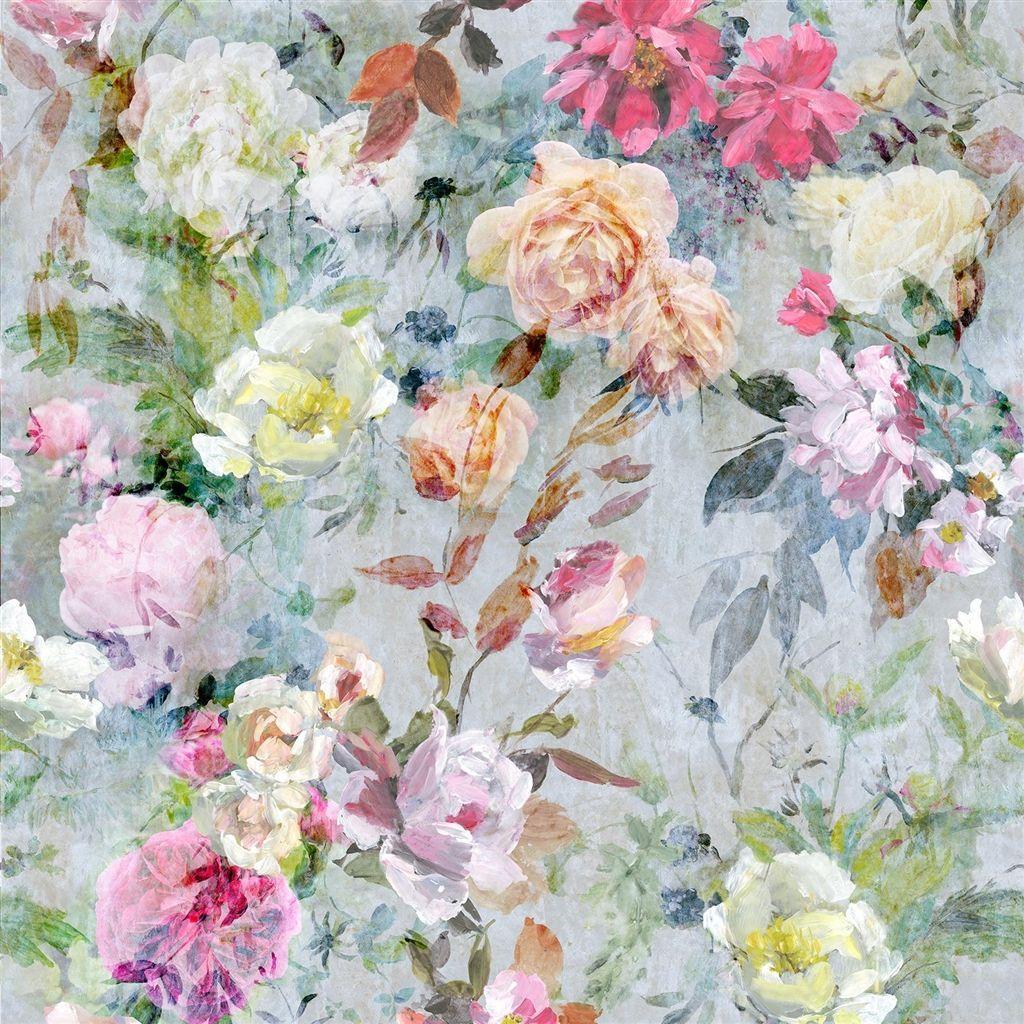 Marianne Fuchsia Fabric Designers Guild Floral