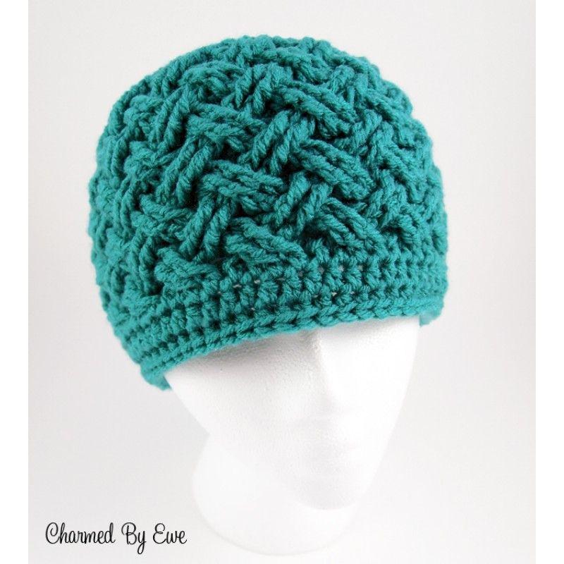 Premium Crochet Pattern ~ Celtic Dream Beanie by Charmed By Ewe ...