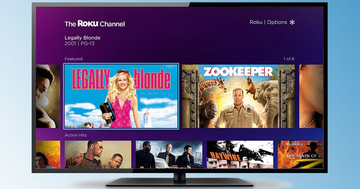 Roku rolls out its own TV channel, pitting it against the