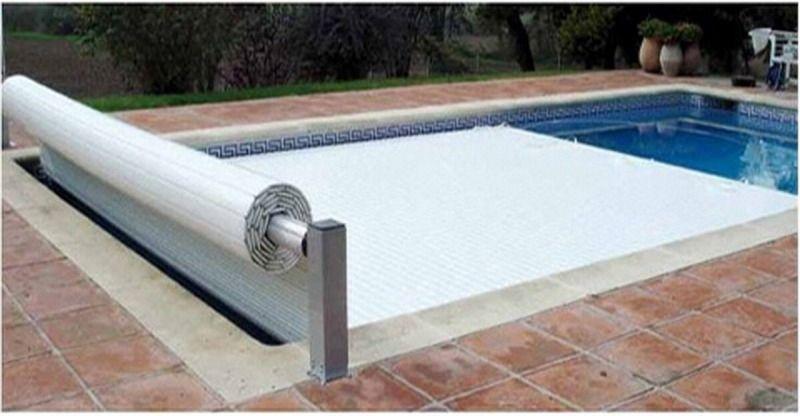 Cobertor de seguridad para piscinas deslizanteCobertor de Lamas deslizante para piscinas conforme a la normativa NFP 90- 308.Máxima seguridad con el fin...