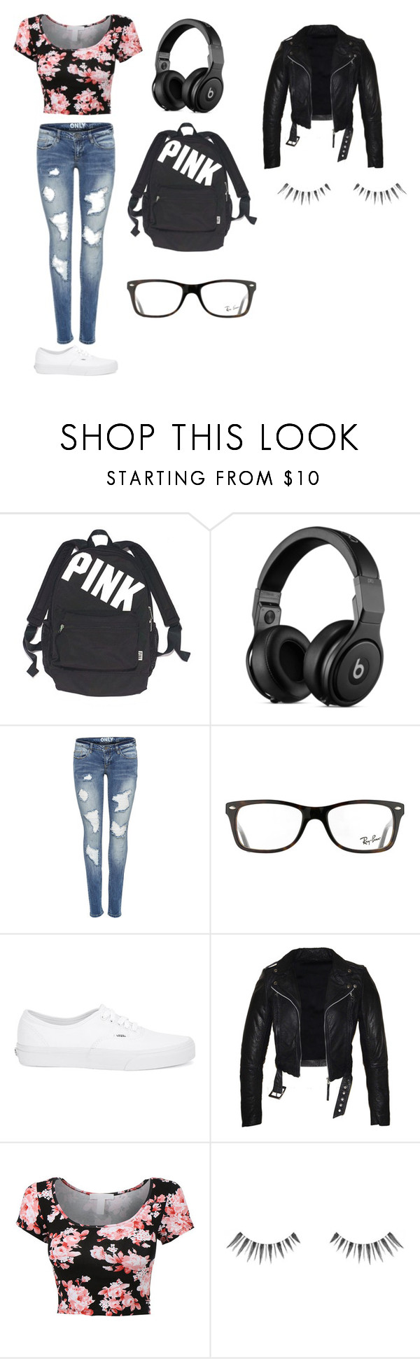 """journey journey"" by fb107247-1 on Polyvore featuring beauty, Victoria's Secret, Ray-Ban and Vans"