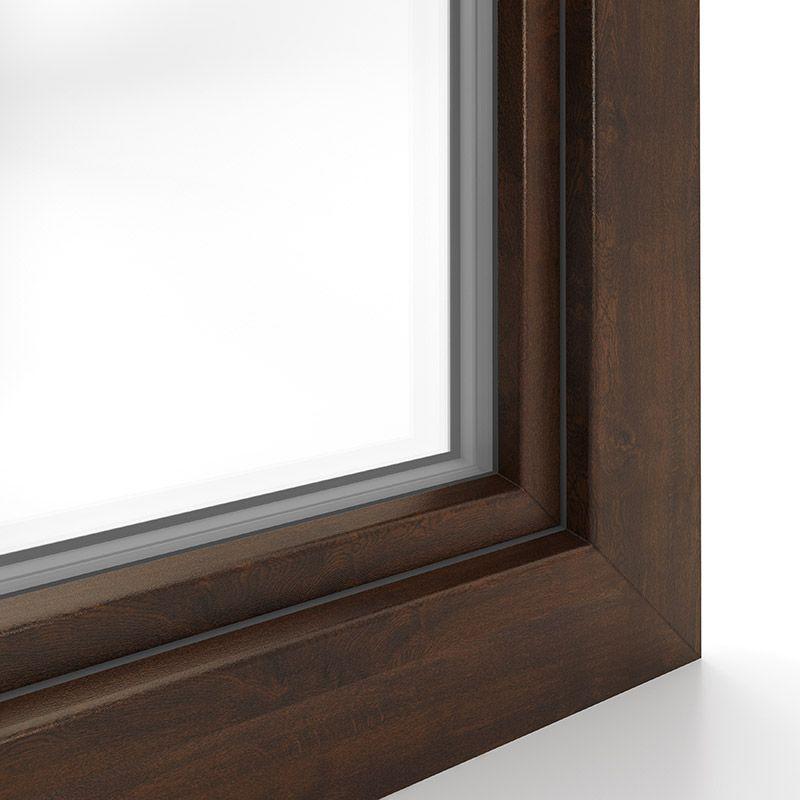 Standarddekor Nussbaum Fensterrahmen Fenster Und Dekor
