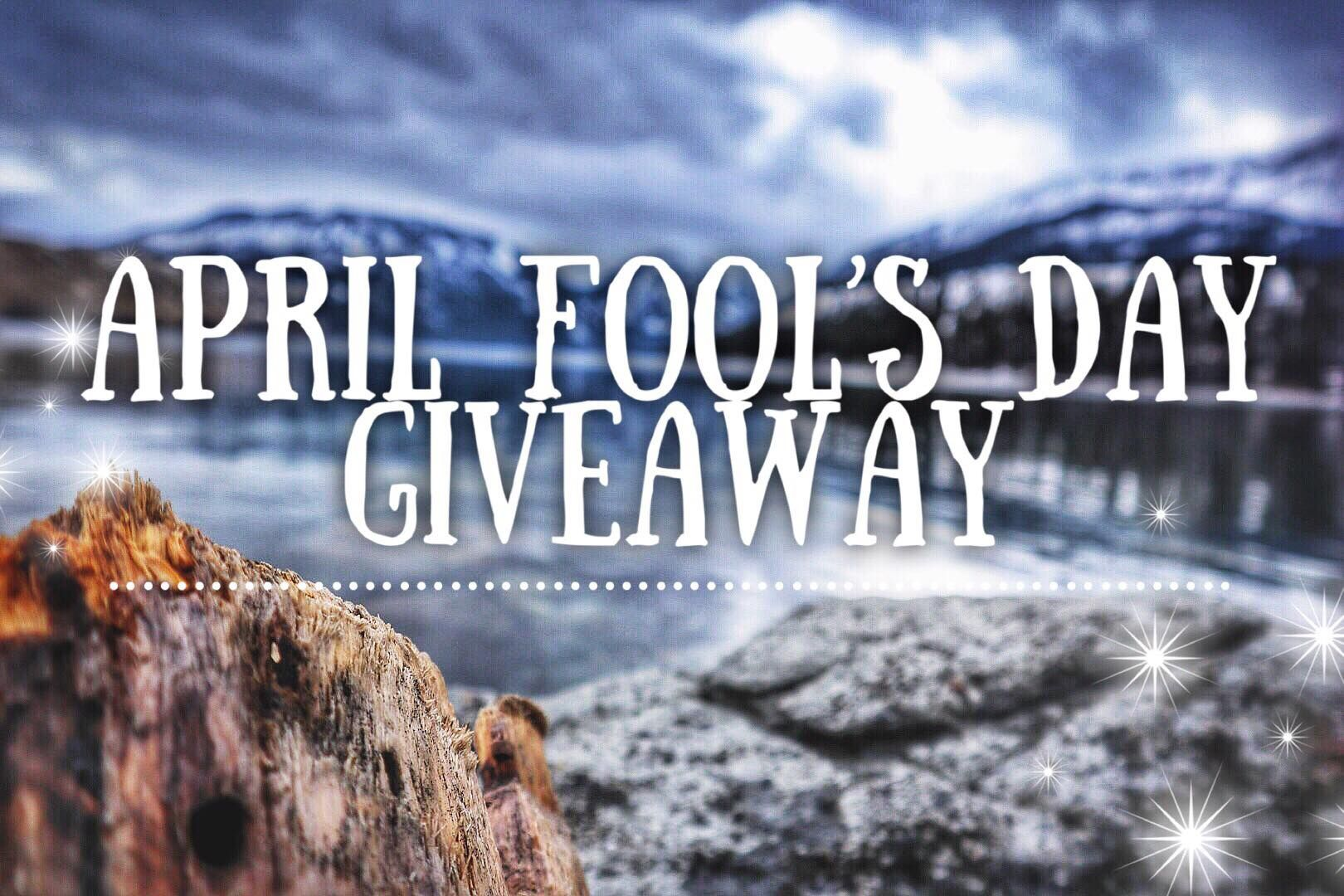 April fools day facebook giveaway go like our page to be