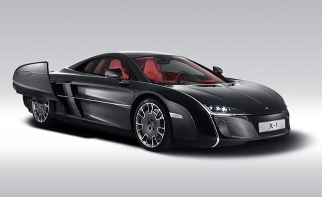 mclaren x-1 when you're a mclaren fan who owns a mclaren f1, a
