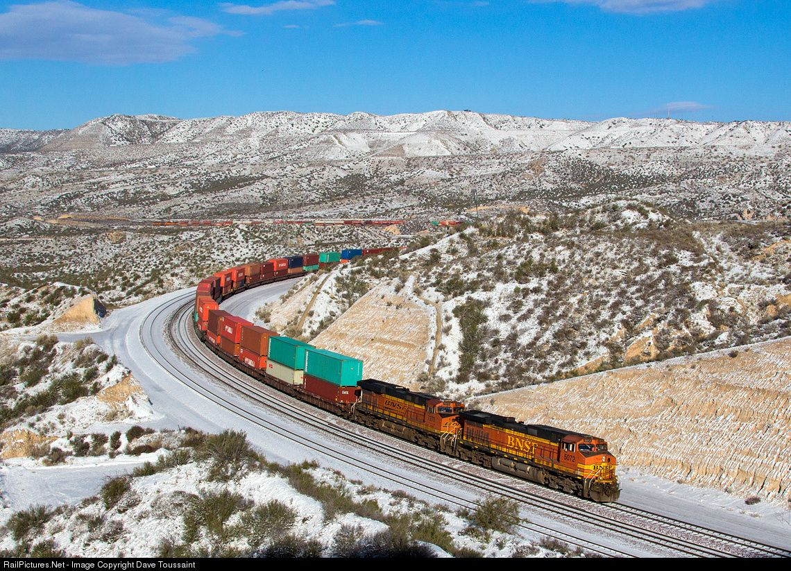 RailPictures.Net Photo: BNSF 5072 BNSF Railway GE C44-9W (Dash 9-44CW) at Cajon Pass, California by Dave Toussaint