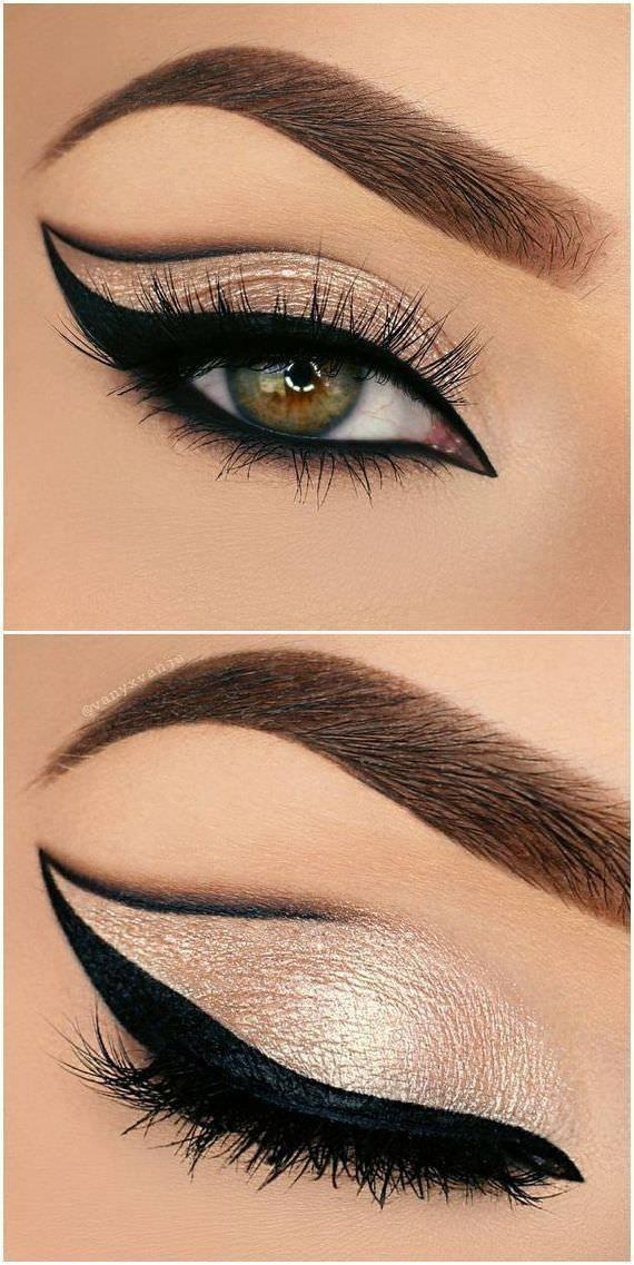 Trucos de maquillaje para aplicar el eyeliner