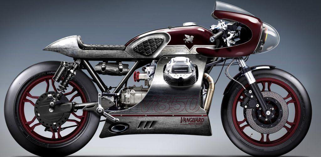 Moto Guzzi Le Mans 'Master of Endurance' by Gannet Design