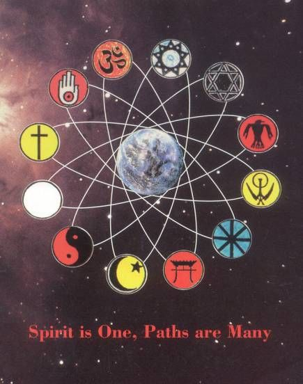 There are many paths to enlightenment. Choose the way that makes you happiest.