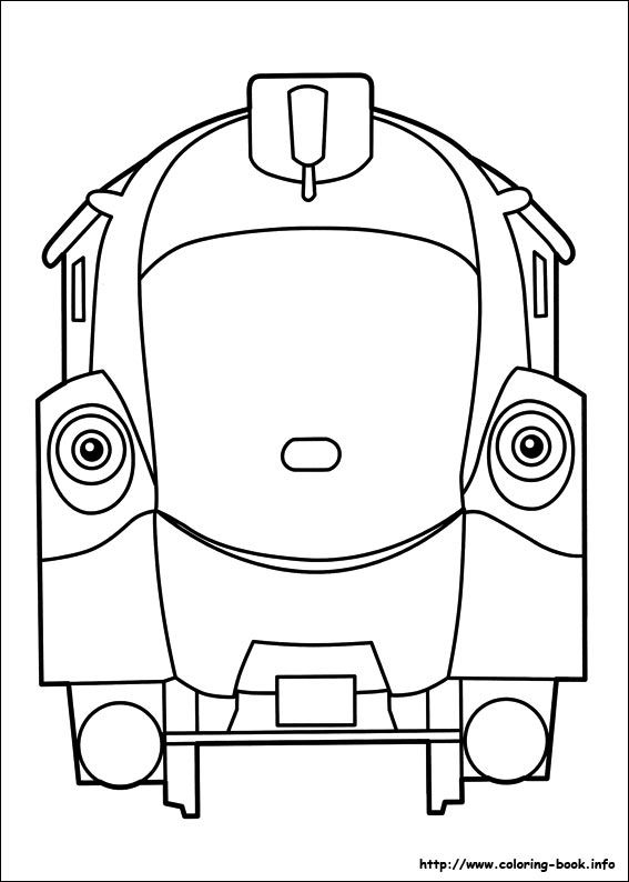 Chuggington coloring picture coloring pages pinterest - Chuggington dessin anime ...