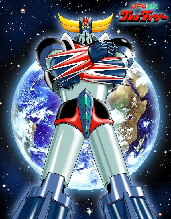 Standing ufo robot grendizer goldorak the super