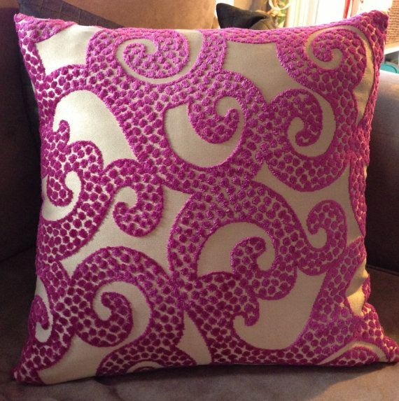 Fuschia Throw Pillows for Bedroom - http://homebest.kintakes.com ...
