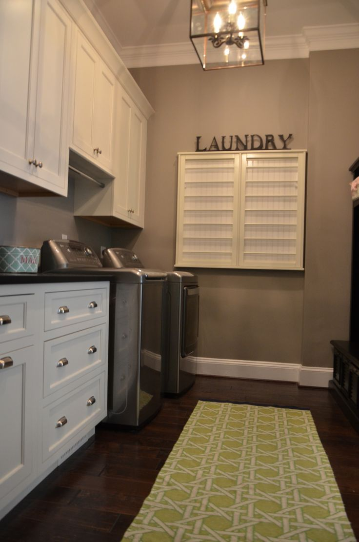 Small Utility Room With Drying Rack Google Search