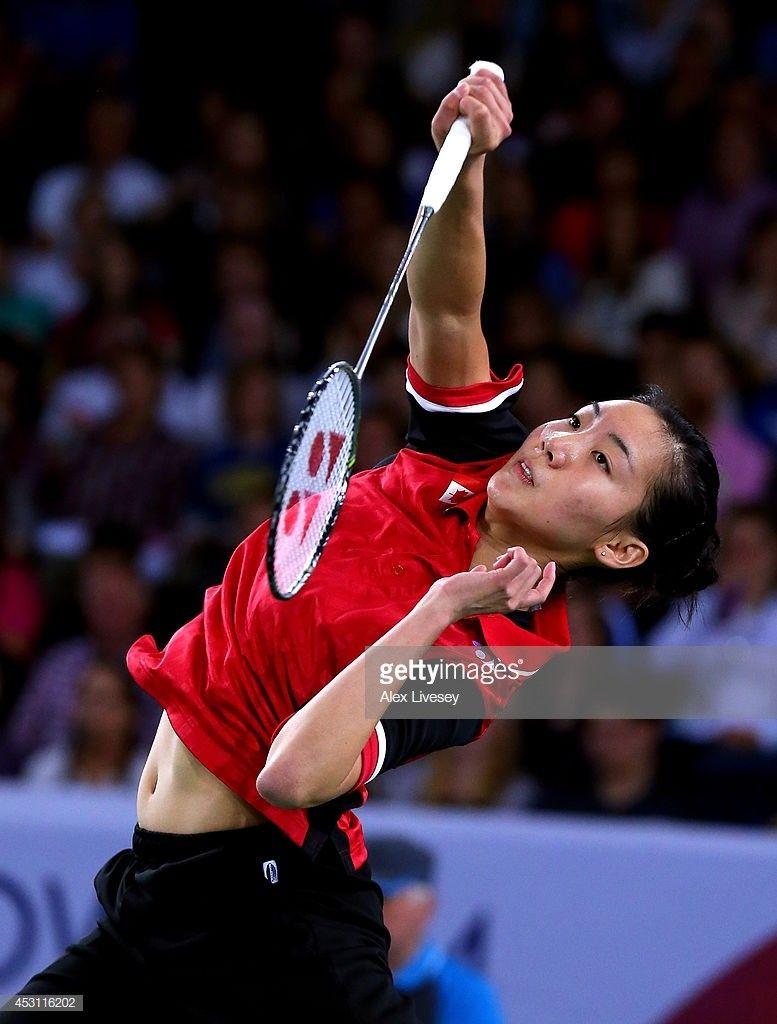 Pin by 天民. 黄 on Women's Single Badminton, Team canada