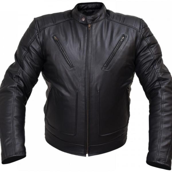 Arrow Men Rivet Buffalo Leather Jacket 9770eee Buffalo Leather Jacket Jackets Buffalo Leather