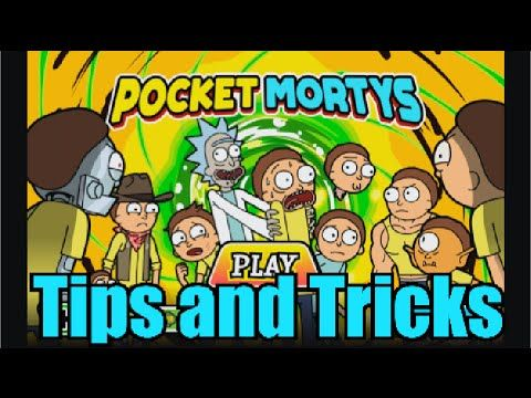 Pocket Mortys Tips And Tricks And Crafting Recipes Pocket Mortys