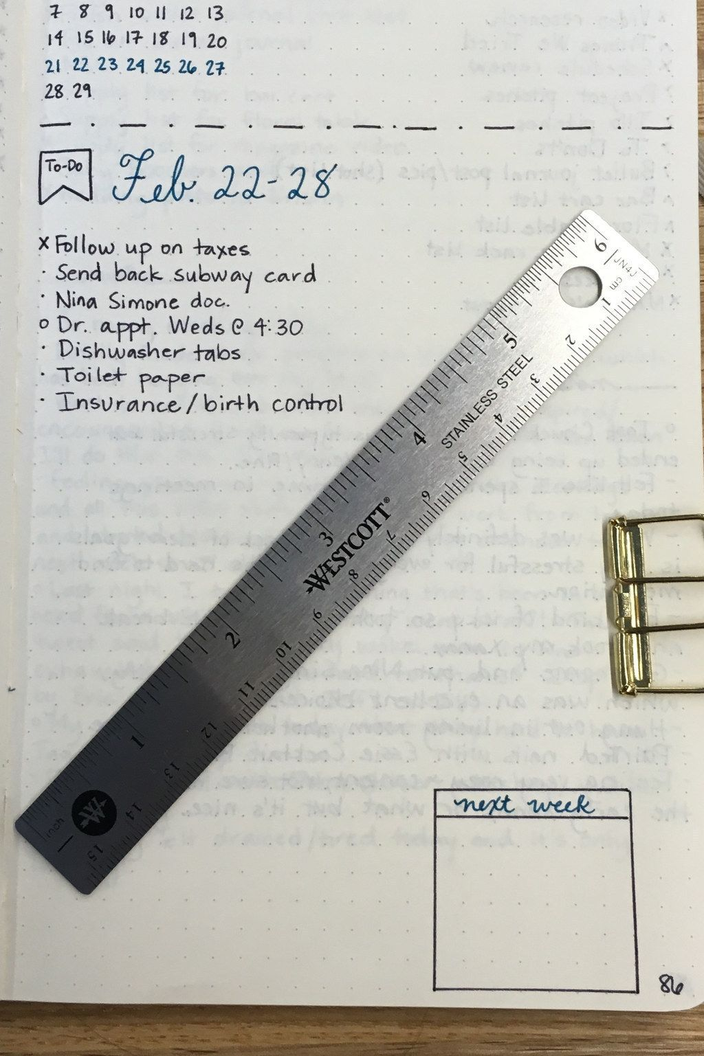 23 Bullet Journal Ideas That Are Borderline Genius Ruler Book List