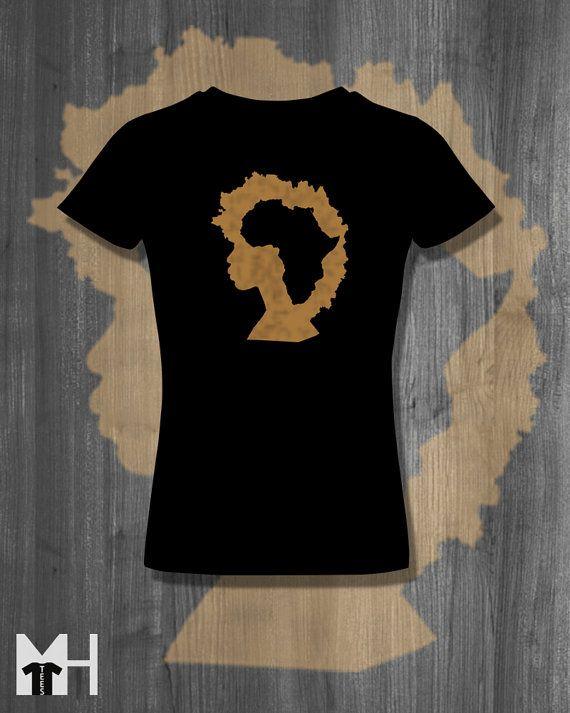 f8d3ccbd8a2 Afro T shirt Natural Hair T-Shirt Black Lives Matter Plus Size Clothing  African Clothing African Shirt Nubian Clothing