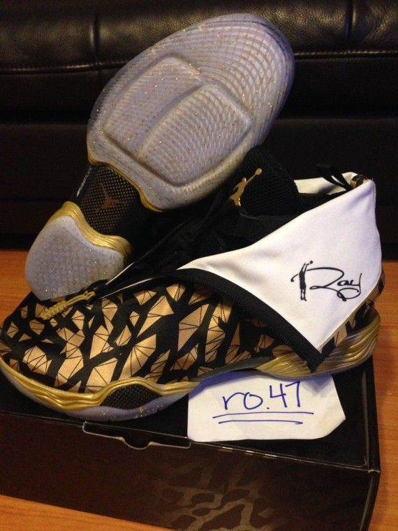 reputable site 87f2e f98a0 Ray Allen's Air Jordan XX8 PEs on eBay - SneakerNews.com ...