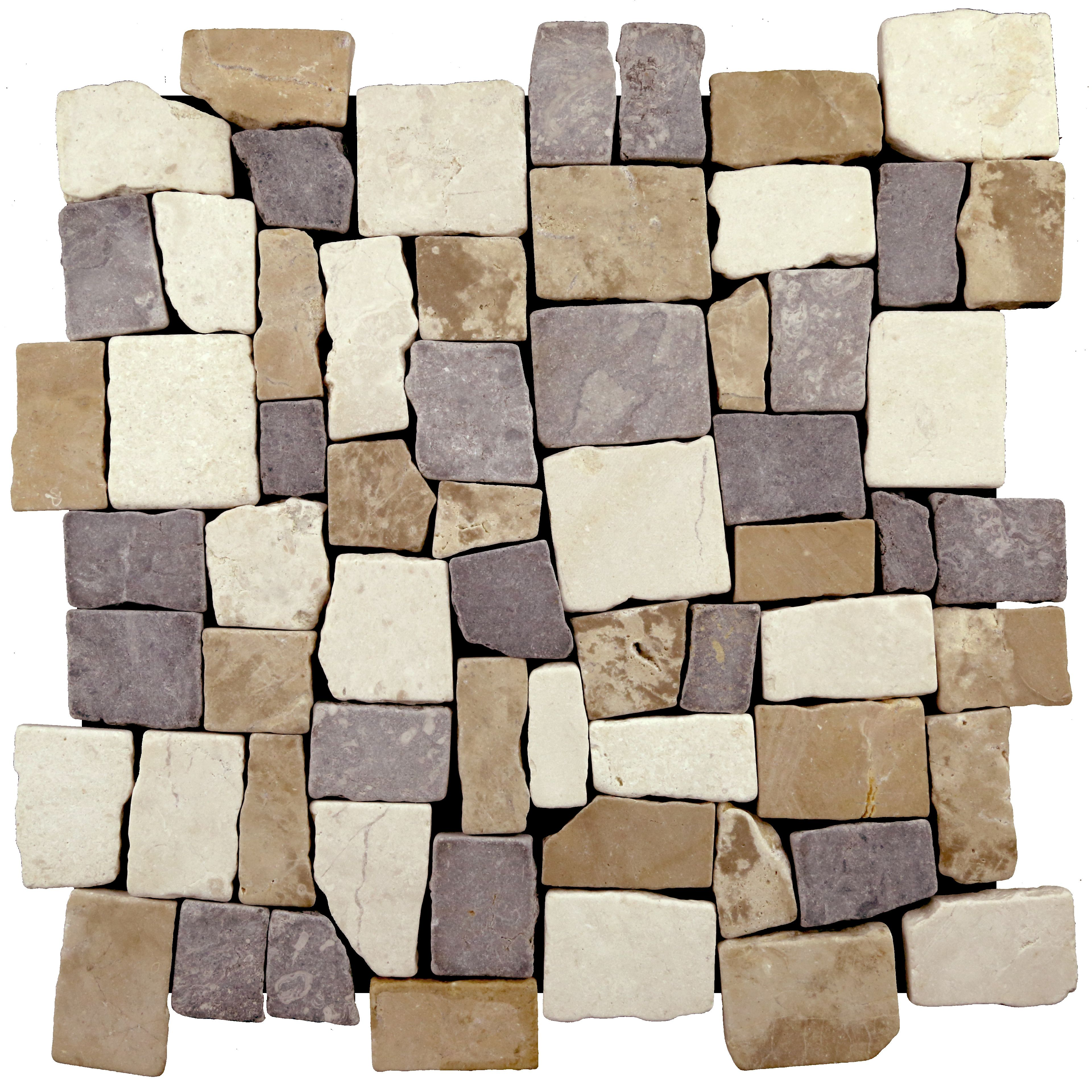 Easy To Install Mesh Backed Interlocking Natural Stone Tile Made Out Of High Quality Indonesian Stone Mosaic Tile Marble Mosaic Tiles Natural Stone Flooring