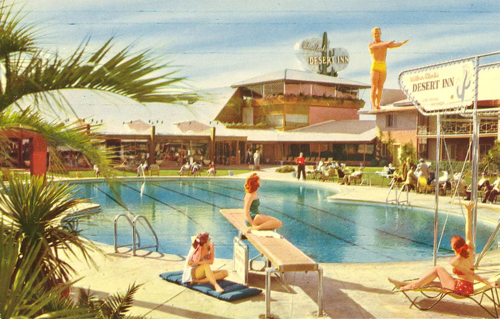1950s Swimming Pool 1950s Outdoor Living Pinterest Swim Vintage And Vegas Pools