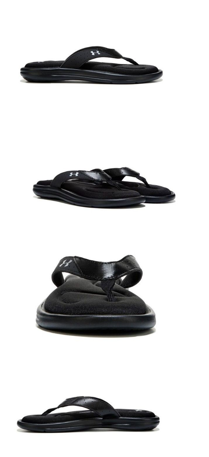 93ef9bcf1bbc Sandals and Flip Flops 62107  Under Armour Womens Marbella Thong Sandal  Black Size 6 7 8 9 10 -  BUY IT NOW ONLY   41 on eBay!