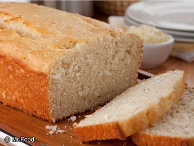Quick breads are always welcome when we're in a hurry and still want to be a homebaked hero in the kitchen! This Lemon Coconut Bread will do just that for you...it's light, sweet, and has the perfect hint of lemon flavor in every bite!